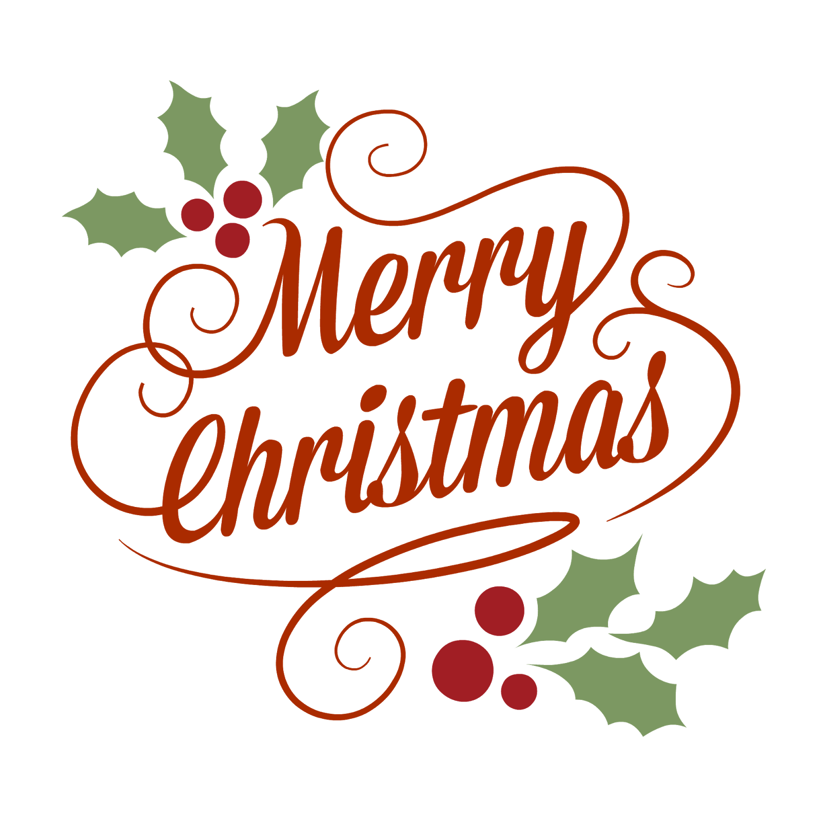merry christmas clipart rustic