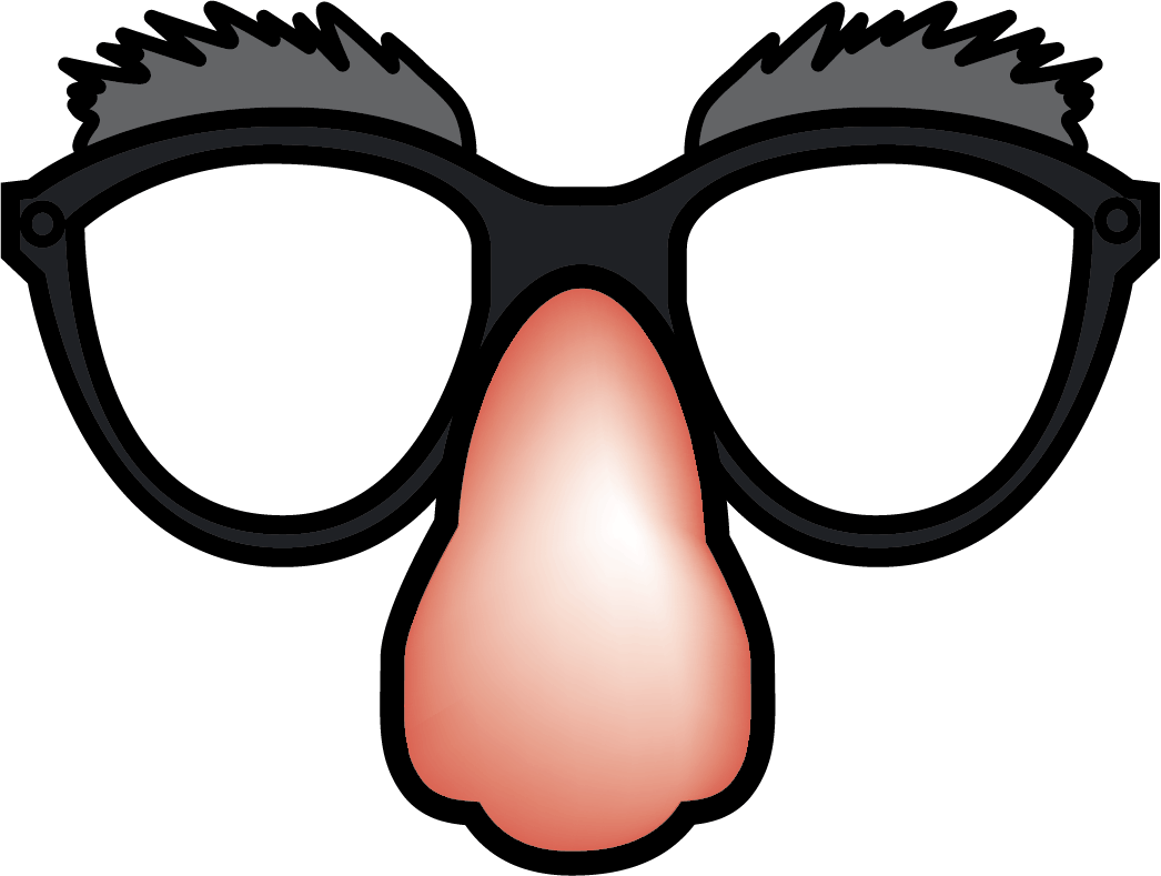 Funny clipart glasses.