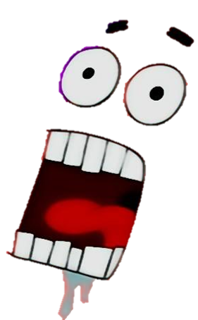 Funny face png. Image patrick object shows
