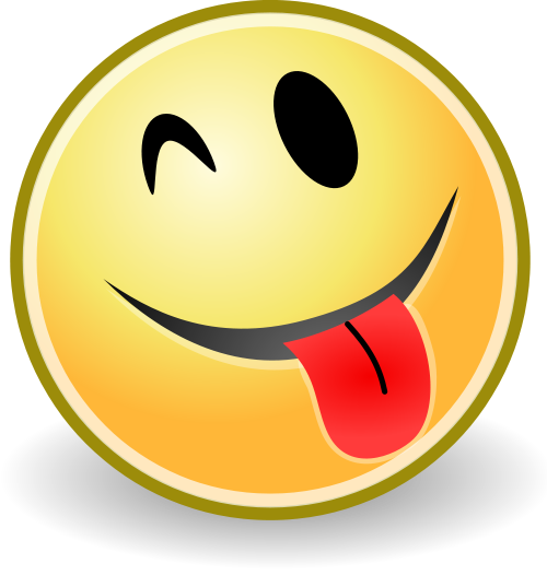 Funny smiley face png. Tongue a whole other