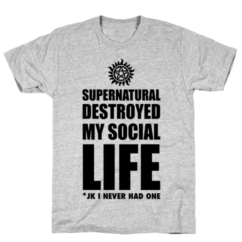 Funny supernatural png. T shirts lookhuman destroyed