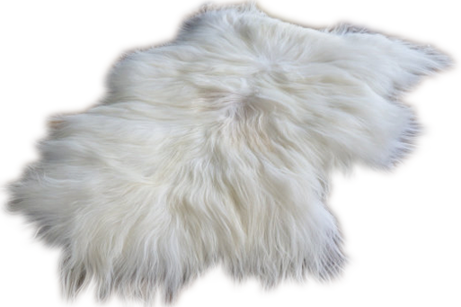 Fur rug png. Natural icelandic sheepskin