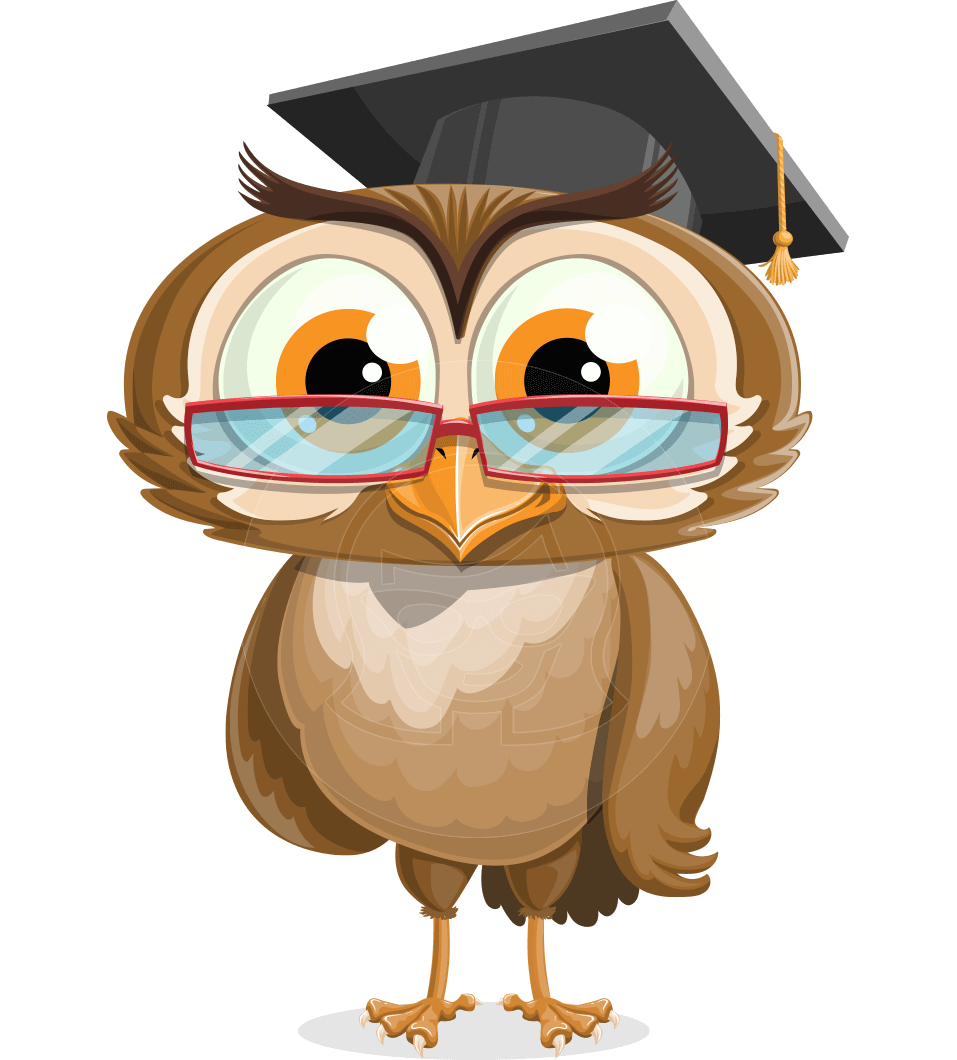 Fur vector owl feather. Owlsen academic a character