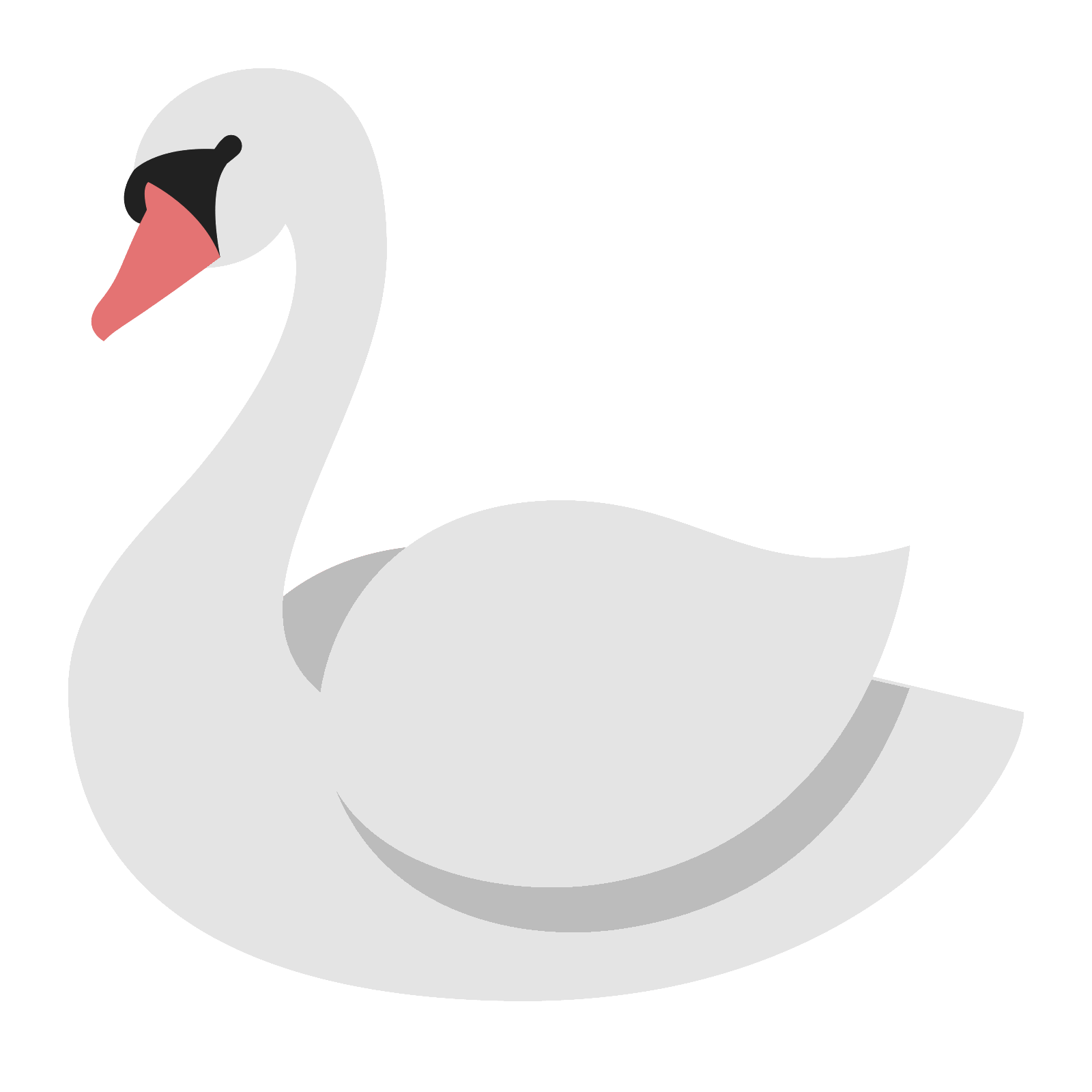 Fur vector swan feather. Icon free download png