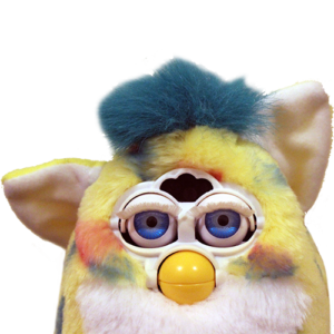 Furby transparent off brand. Thank you comments frenzy