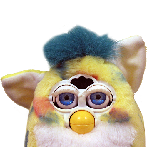 Furby transparent 2.0. Already subscribed frenzy whoops
