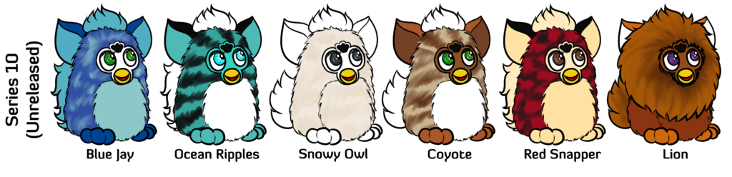Furby transparent 2.0. Unreleased prototypes frenzy nonspecial