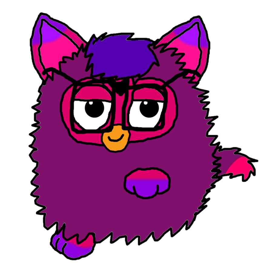 Furby transparent 2.0. Voodoo by furbyproductions on