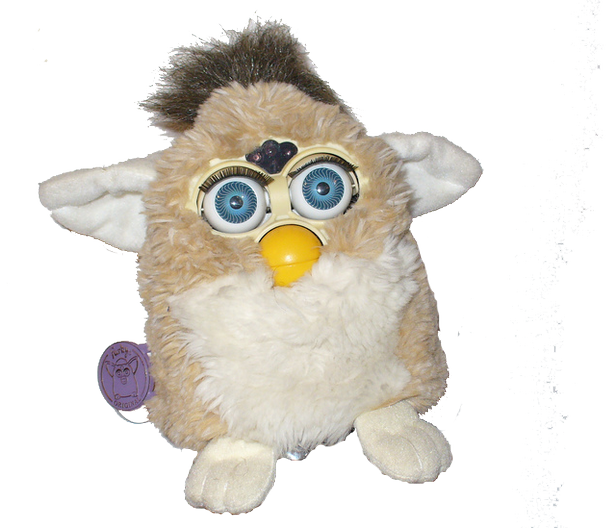 Furby transparent toys. Children of the s