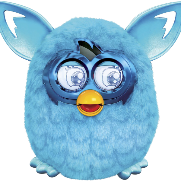 Furby transparent dark blue. Boom teal buy with