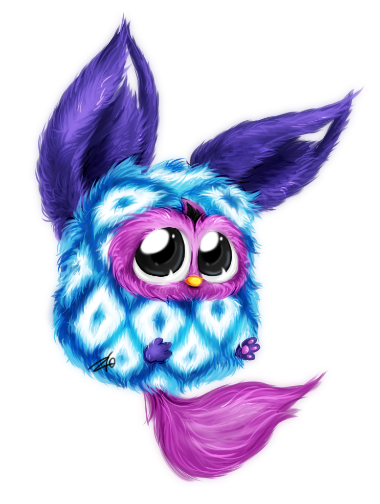 Furby transparent blue eyed. Google search jewell s