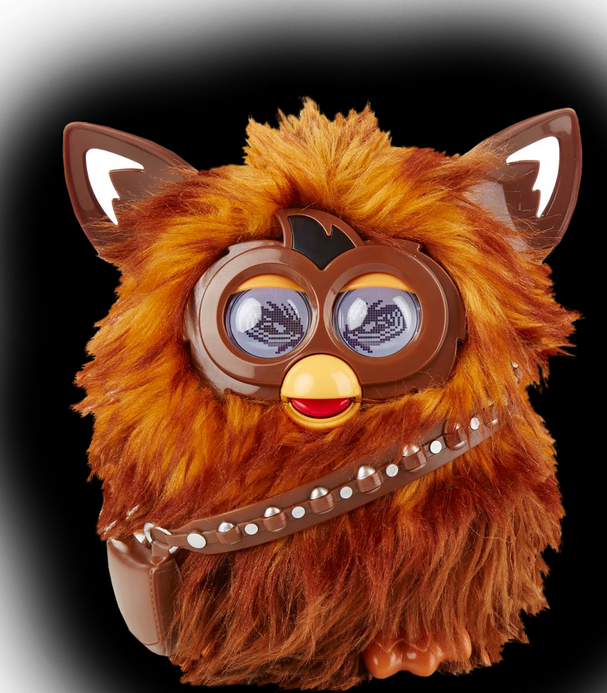 Furby transparent coco. Star wars episode vii