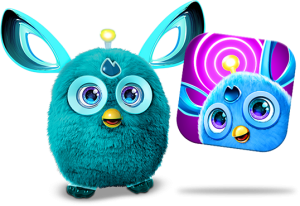 Furby transparent dark blue. Case study tom battey