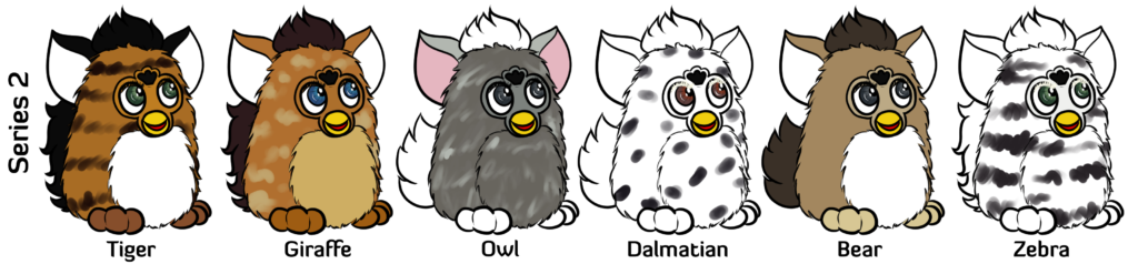 Furby transparent frog. Value guide frenzy