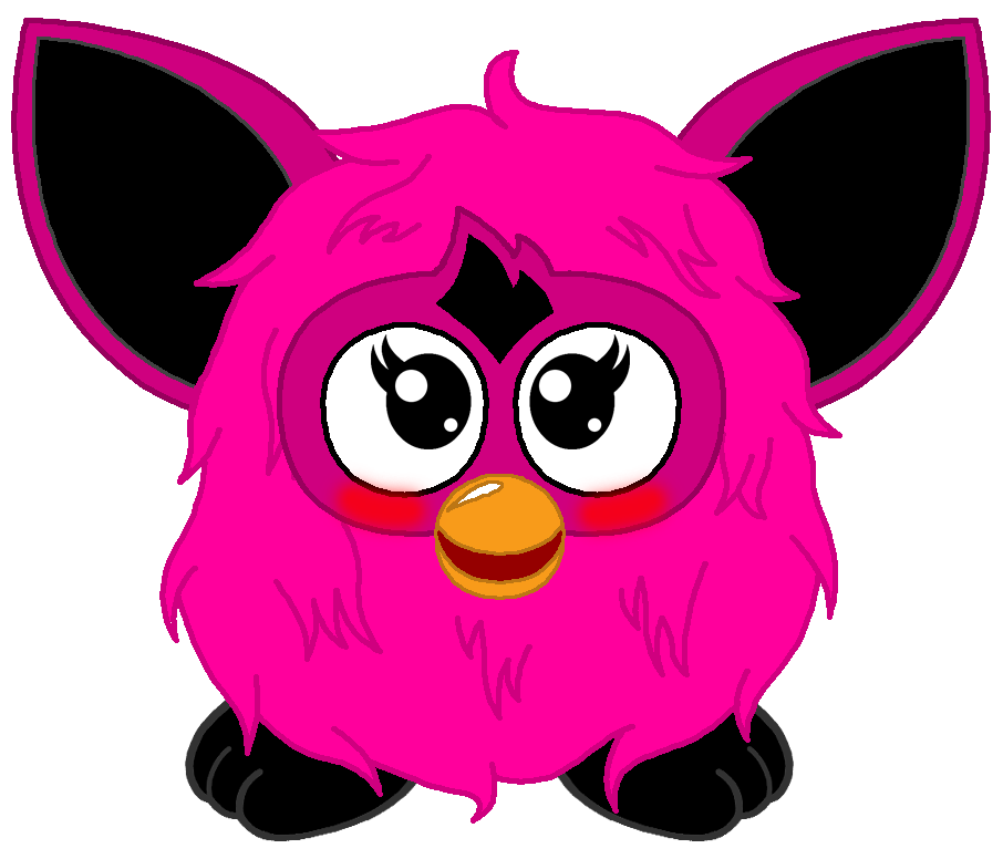 Furby transparent lizzie. Furbling by ffgofficial on