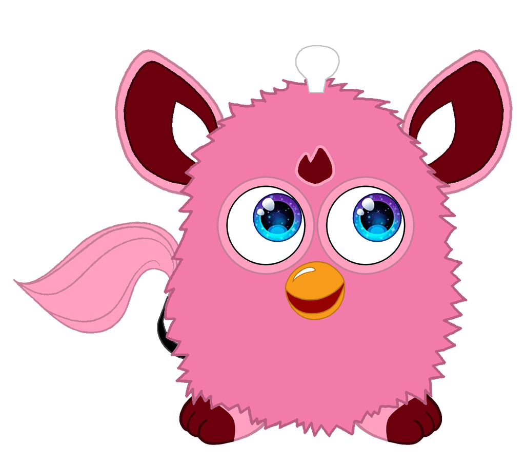 Furby transparent lizzie. Connect by ffgofficial on