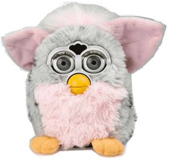 Furby transparent modern. The edge all in