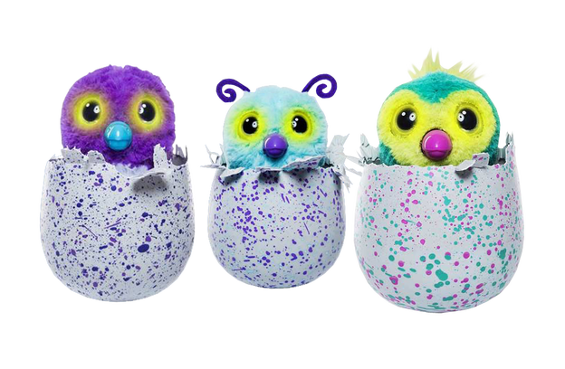 Furby transparent multi colored. Hatchimals toy background image