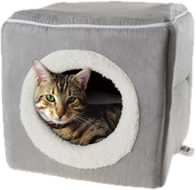 Furhaven tiger tough cat tree house furniture for cats and kittens png. Wayfair beds