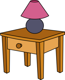 Furniture clipart. Maid bedroom table free