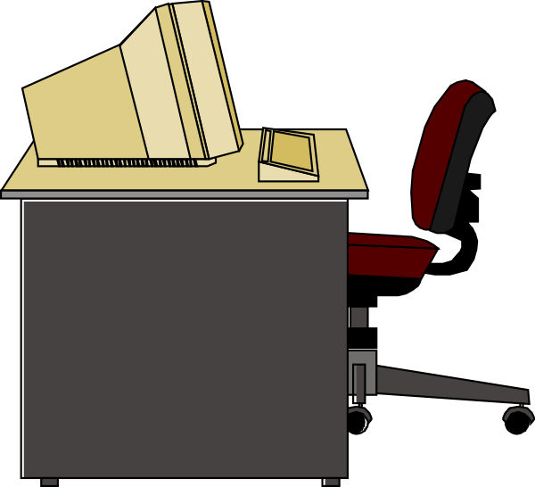 Furniture clipart. Free office cliparts download
