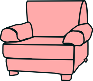 furniture clipart comfy chair