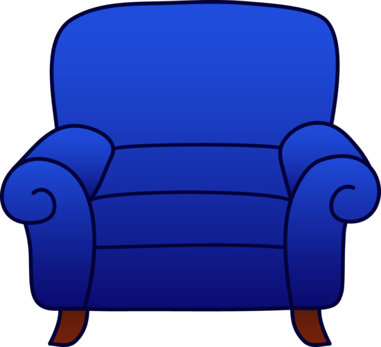 Furniture clipart comfy chair. Jays in the house