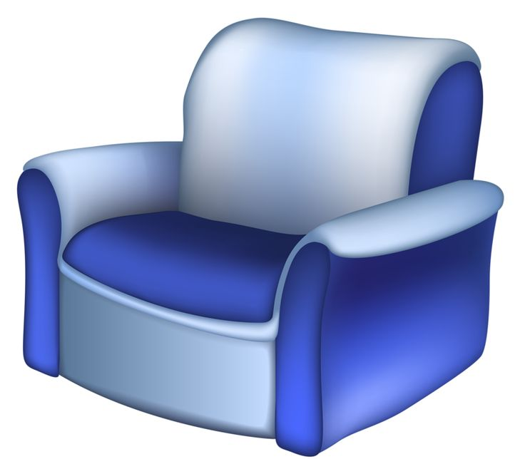 Furniture clipart comfy chair. The best home images
