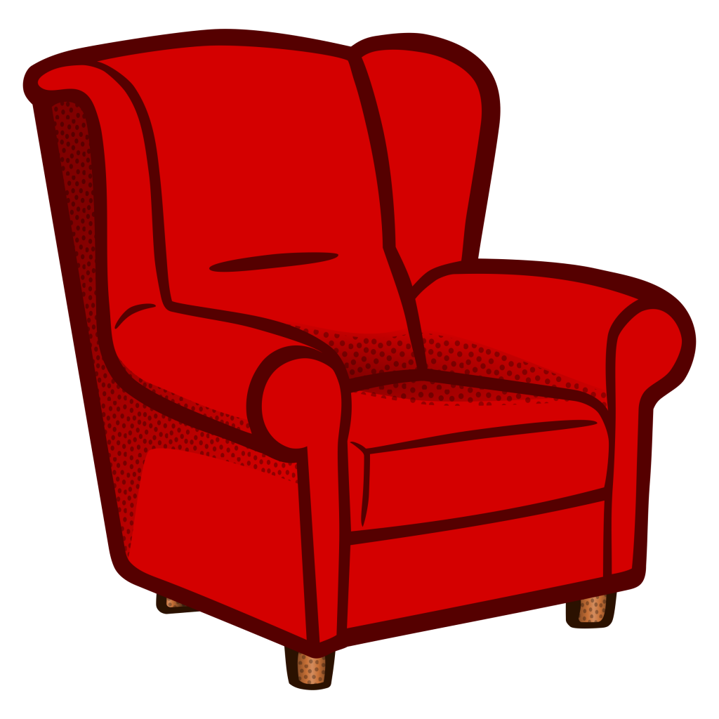 Furniture clipart comfy chair. Sensational spectacular idea sofa