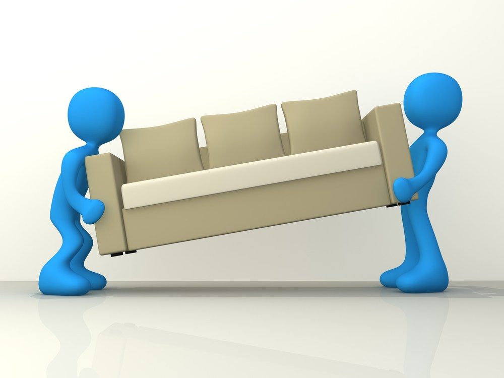 Moving couches will always. Furniture clipart furniture delivery clipart black and white