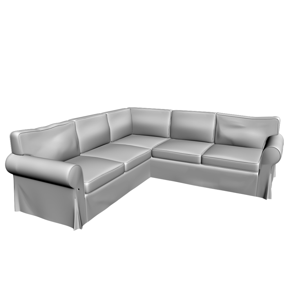 couch clipart black and white png