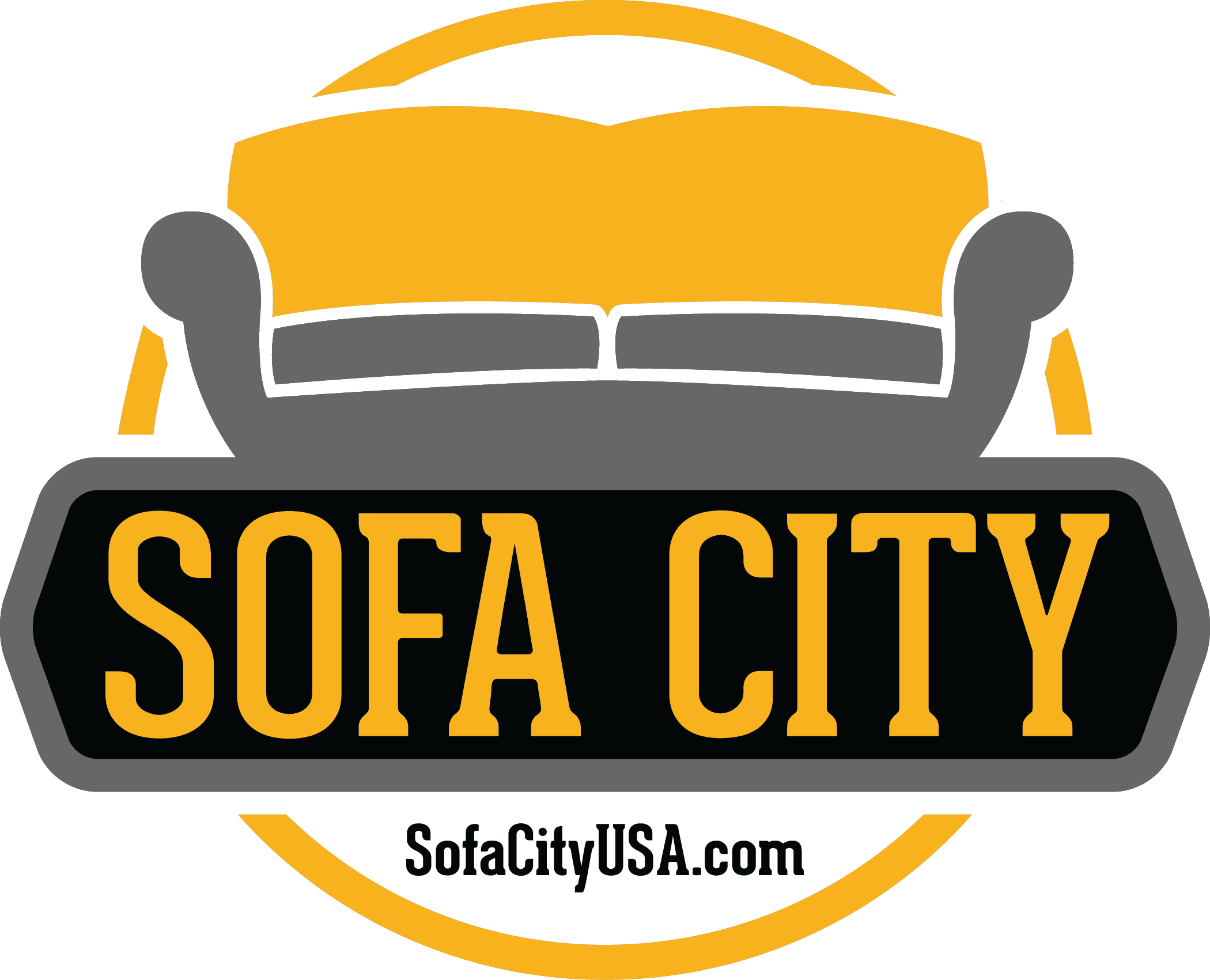 Sofa clipart furniture shop. City
