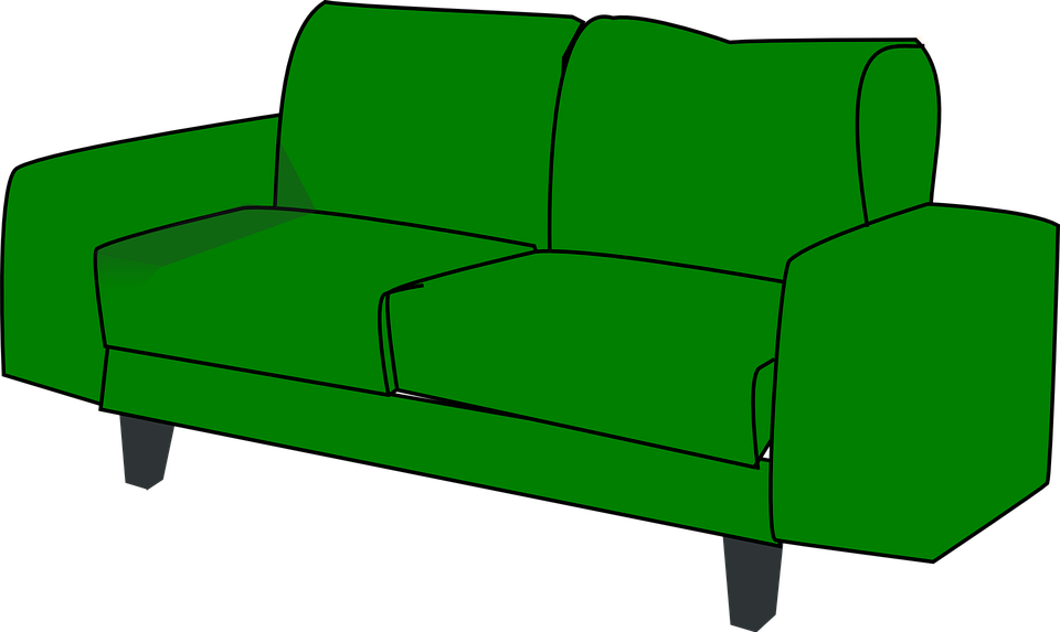Furniture clipart small sofa. Single rarityus faint couch