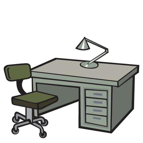 Furniture clipart used furniture. Office illinois school supply