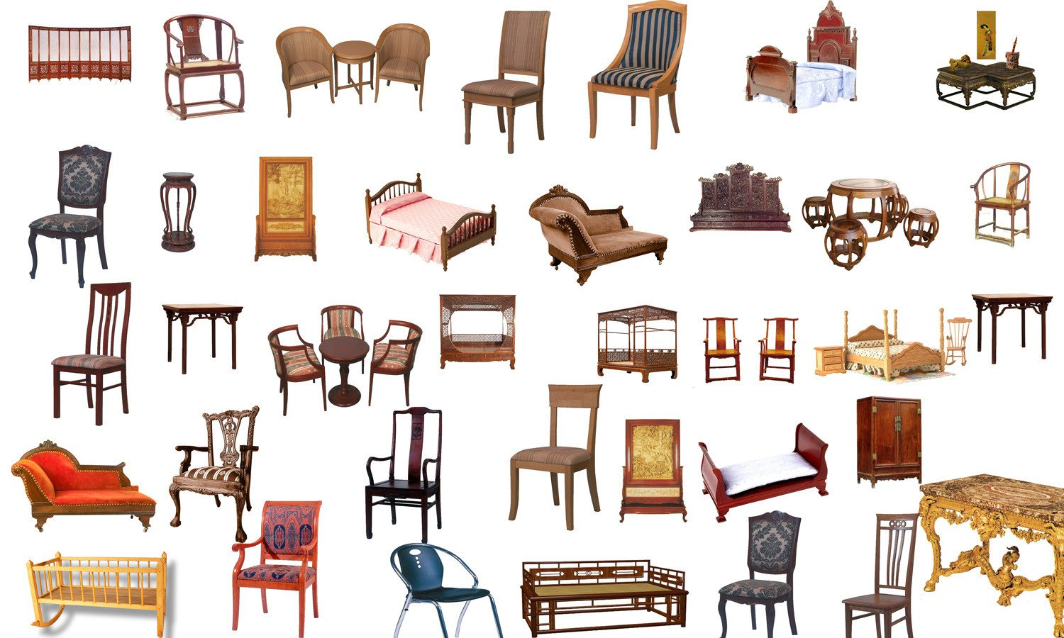 Furniture clipart used furniture. Photoshop psd chinese blocks