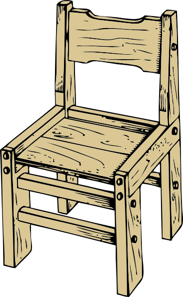 drawing chairs wooden chair