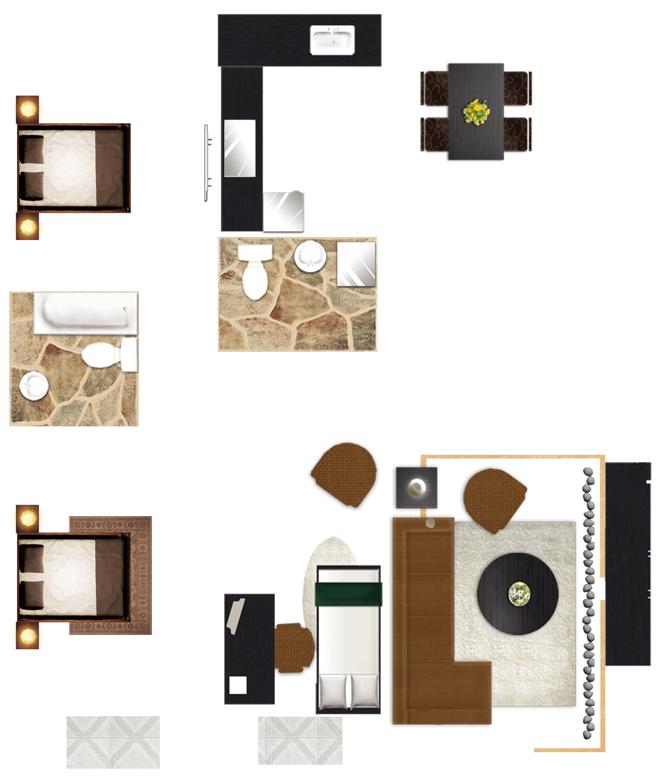 Furniture floor png. Plan house painter and
