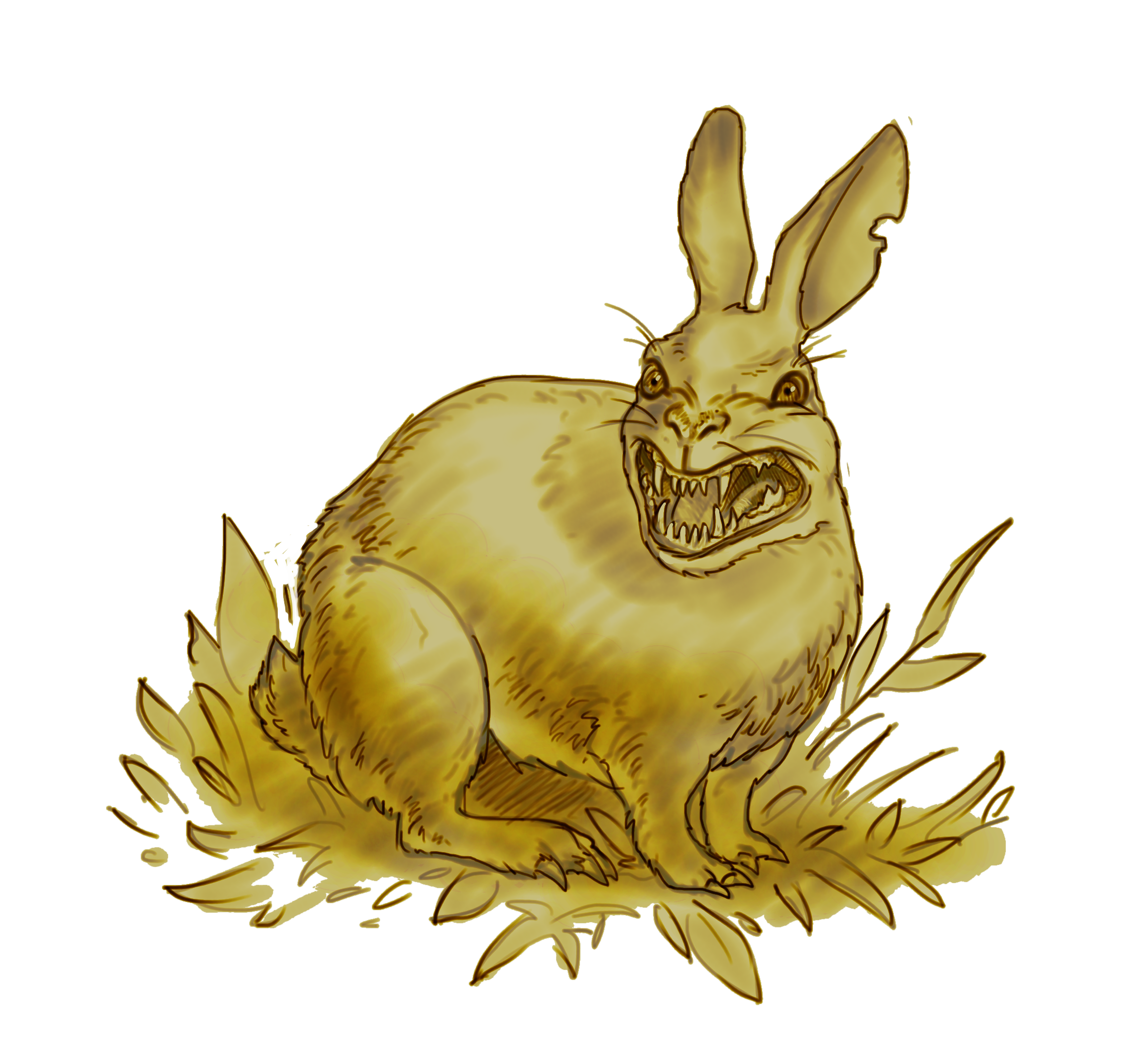 Hares drawing sleeping. Shades of vengeance if