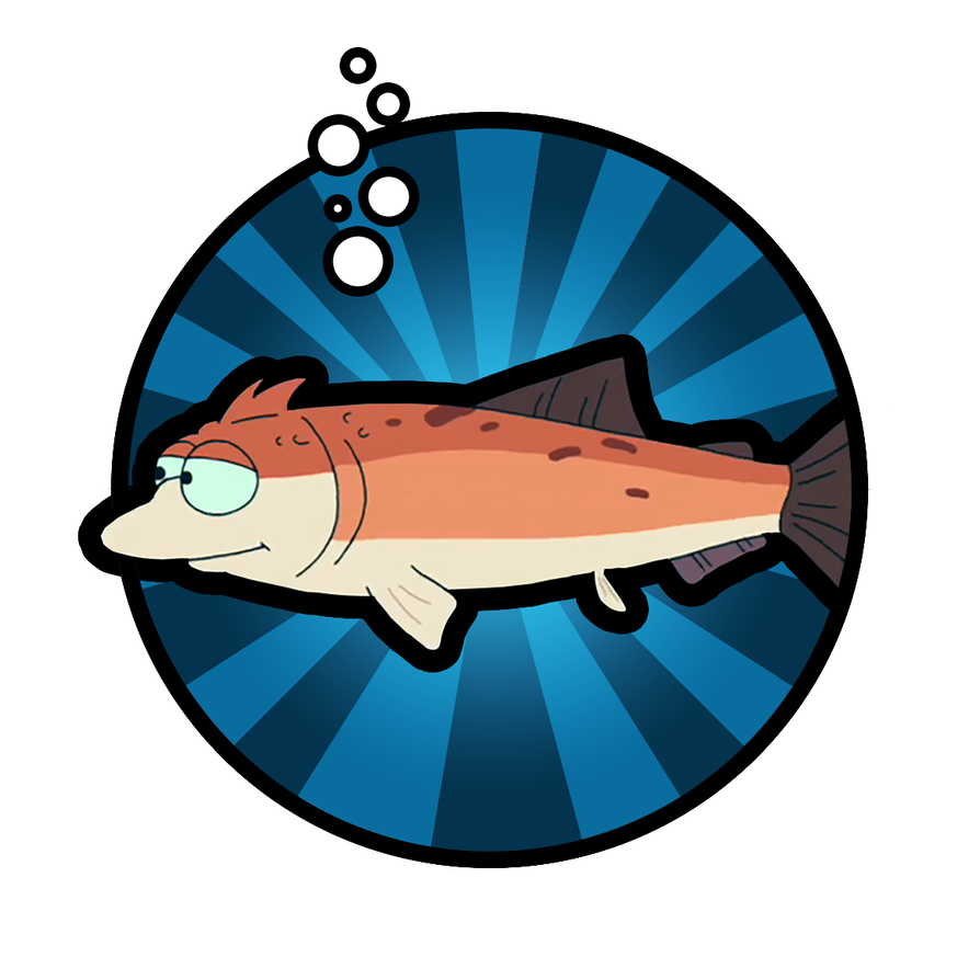 Futurama transparent fish. Fry by somethoughtlessname on