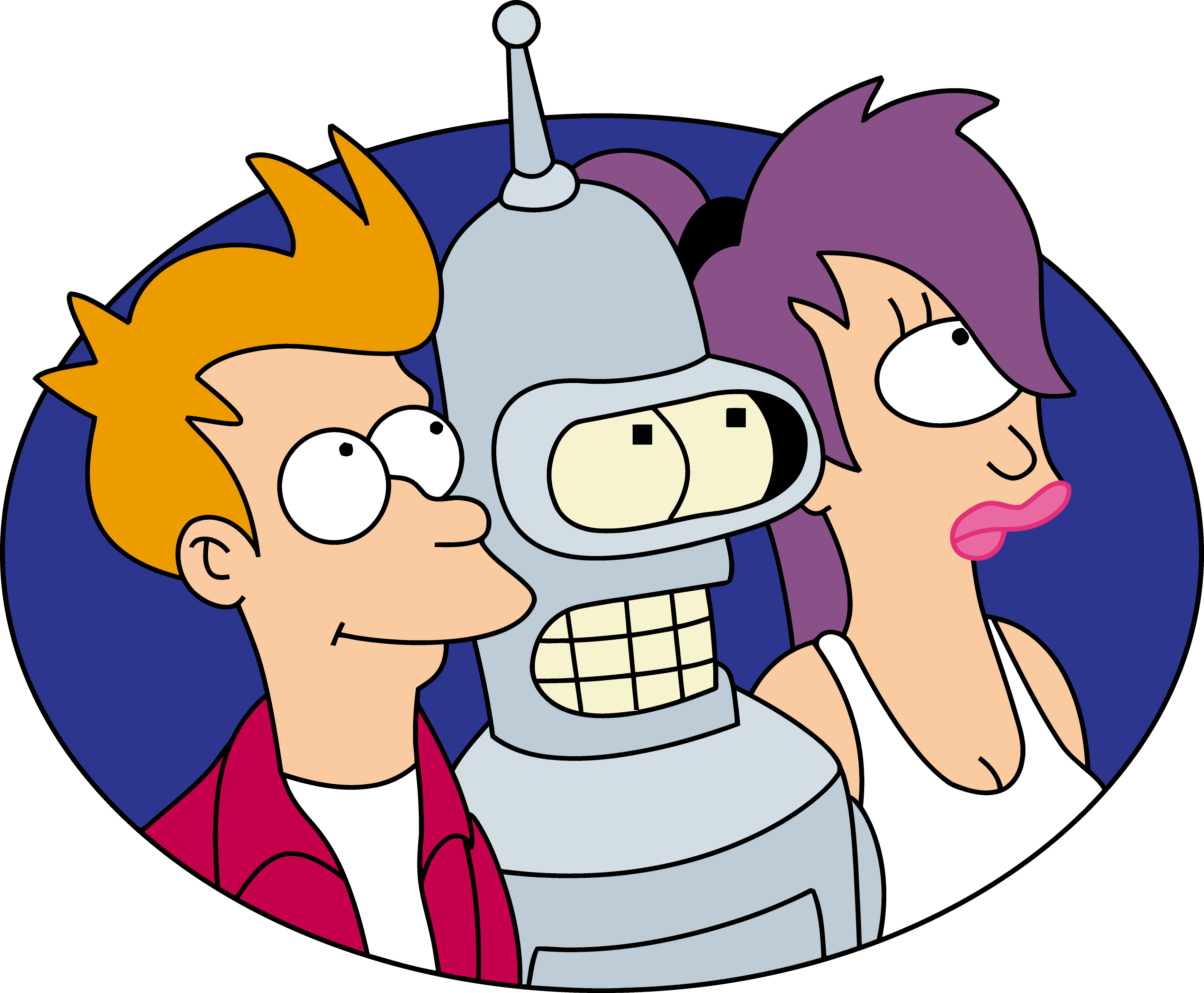 futurama transparent fish
