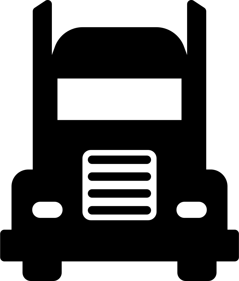 trucking vector front