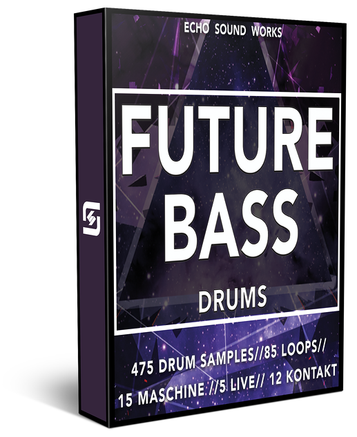 Future bass png. Echo sound works drums