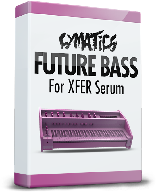 Future bass png. Cymatics for serum daw