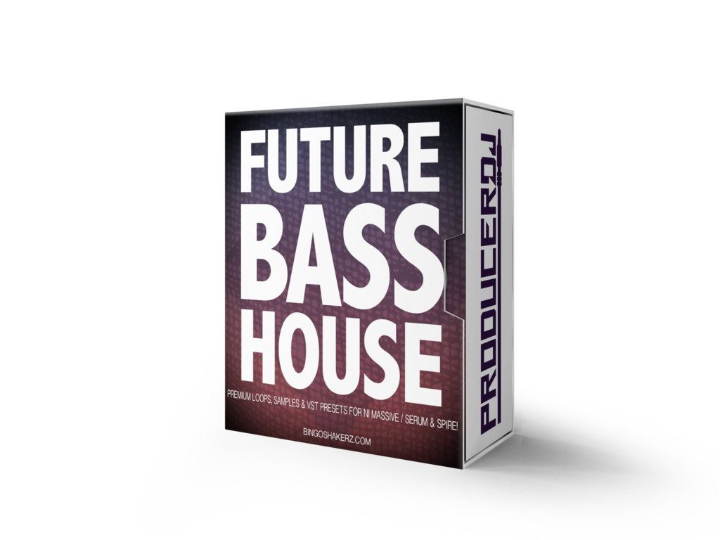 Future bass png. House wav presets producerdj