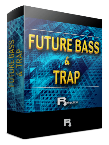 Future bass png. Refraction producers trap