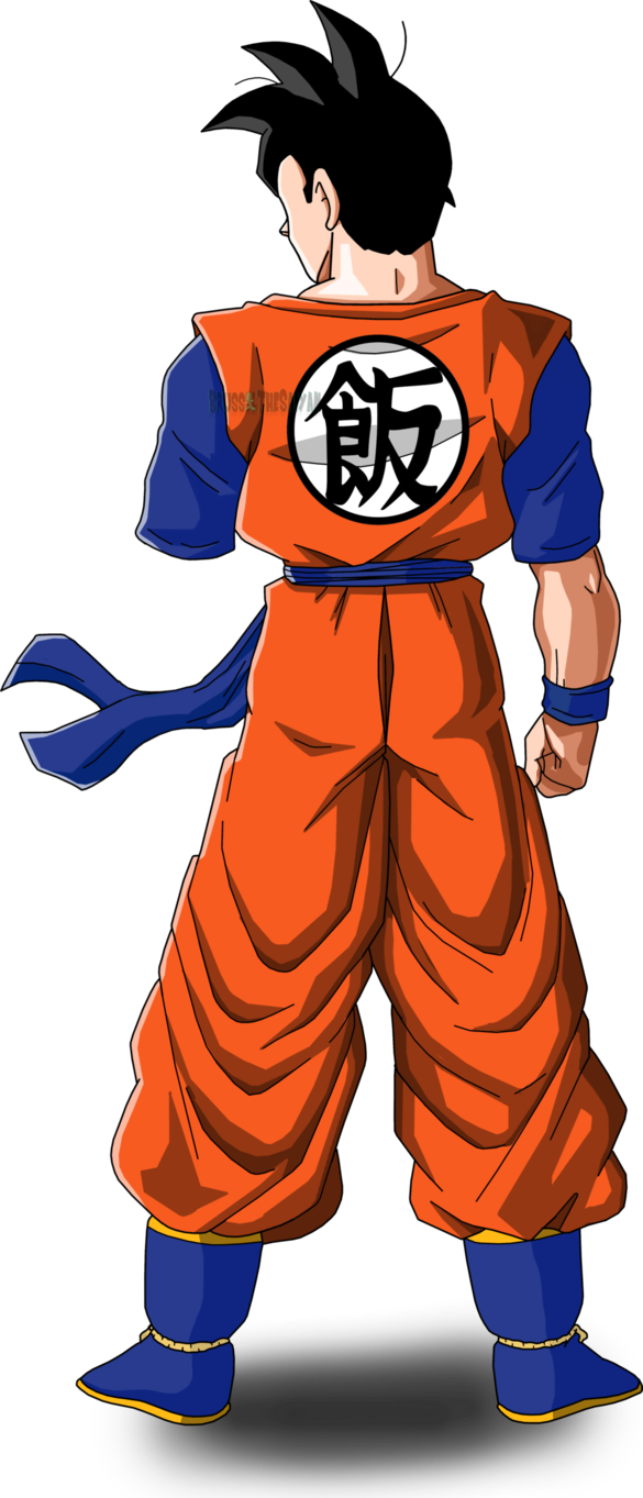 Future gohan png. Version by brusselthesaiyan on