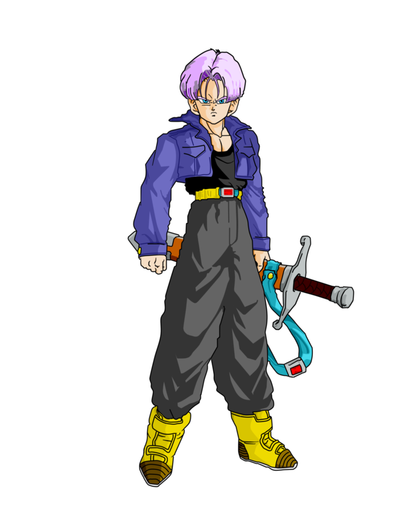 Future trunks png. Image by joseg d