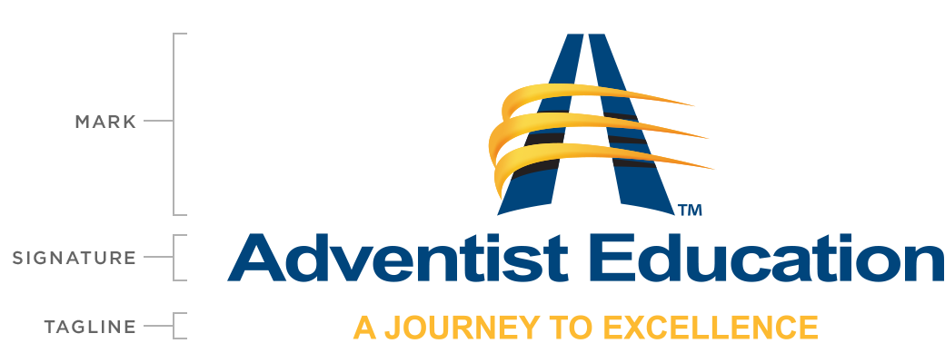 Future vector educational. Brand standards the adventist