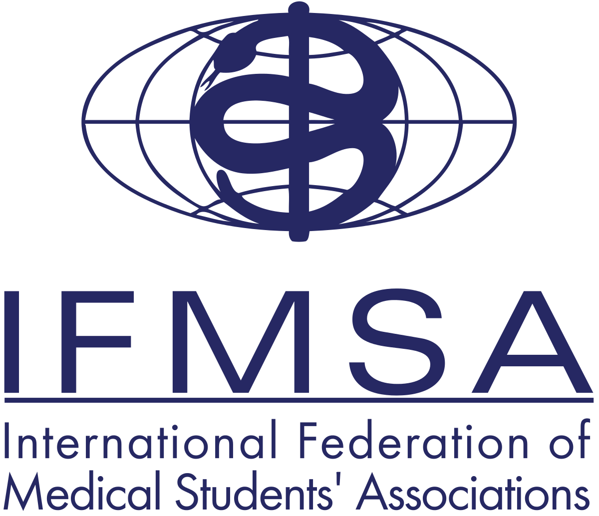 Future vector medical student. International federation of students