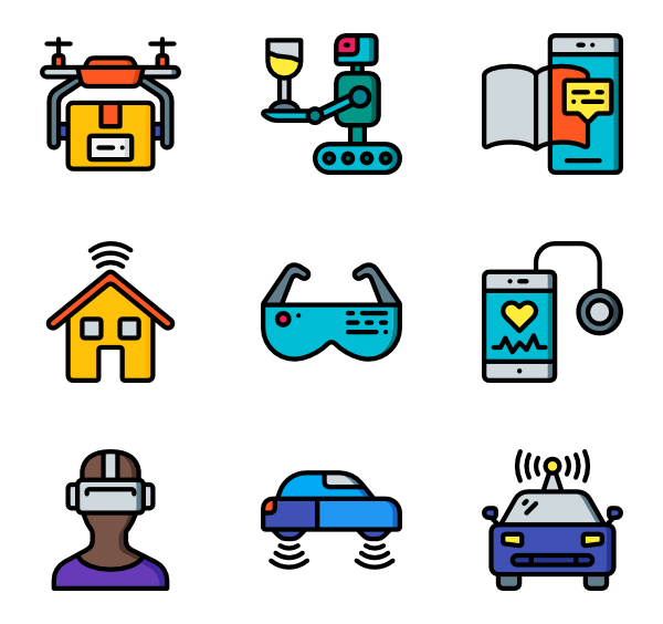 Future vector svg. Icon packs for